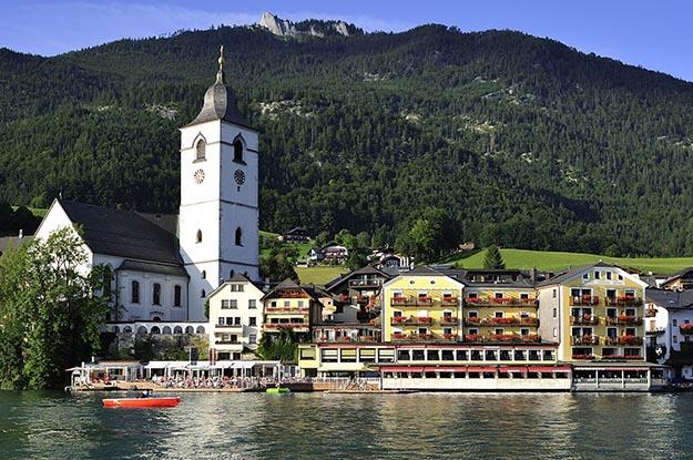 Objevte magický Sankt Wolfgang a romantický hotel Im Weissen Rössl