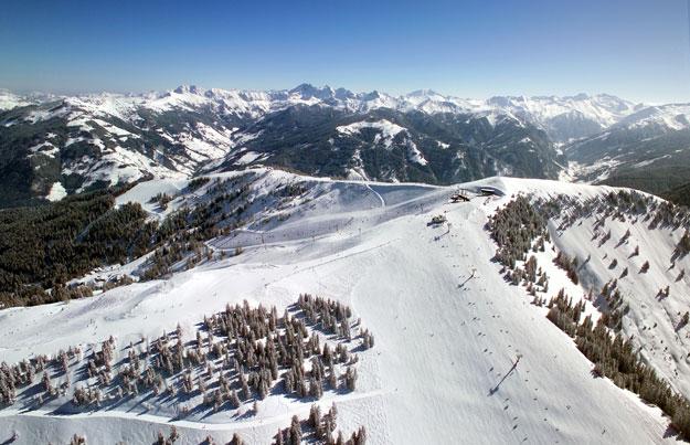 Salcburské údolí Grossarl: návykové lyžování